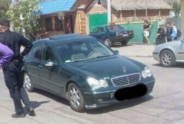 На Бучми водій «Mercedes» збив дев'ятирічного хлопчика. Малий в реанімації (ФОТО)
