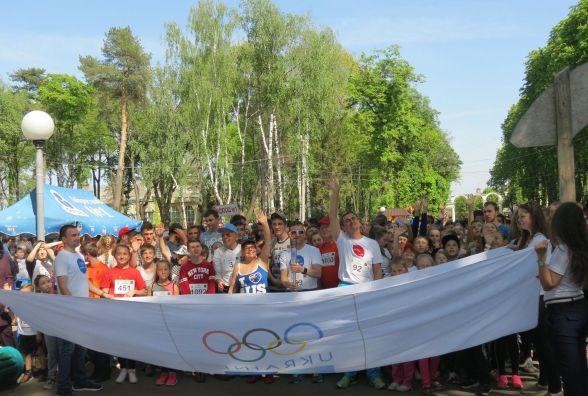 Олімпійський день у Вінниці прикрасили забіги зіркових спринтерів і лотерея