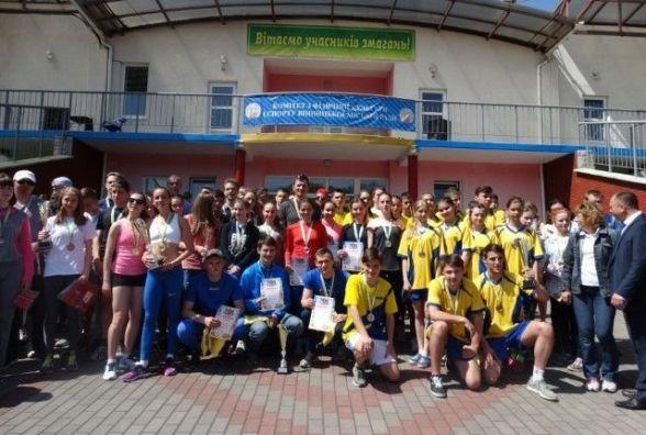 У сімдесяте школярі та студенти долучилися до естафети з нагоди Дня Перемоги