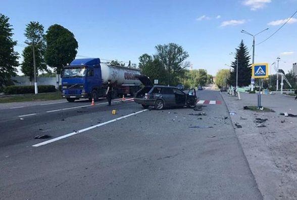 На Вінниччині в результаті  ДТП шестеро людей травмувались (ФОТО з місця)