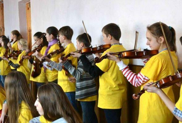 Табір у центрі міста. За 5 днів дітей навчать грати на музичних інструментах і співати в хорі