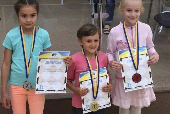 Маленька вінничанка виборола «срібло» на Чемпіонаті України з шахів