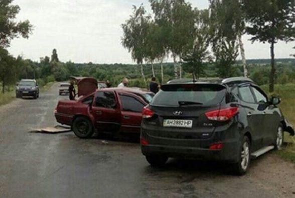 ДТП в Іллінецькому районі: два побиті авто та четверо травмованих