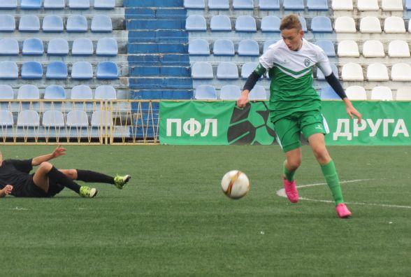 Всі чотири команди спортшколи «Прем'єр-Нива» здобули перемоги у футбольній лізі