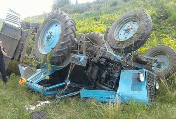 Смертельне ДТП у Вапнярці: молодий тракторист перевищив швидкість