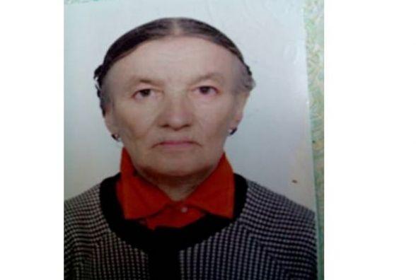 Допоможіть розшукати 80-річну Ніну (ФОТО)