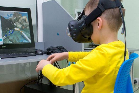 Проблемы со зрением у детей в Виннице лечат с помощью виртуальной реальности (Новости компаний)