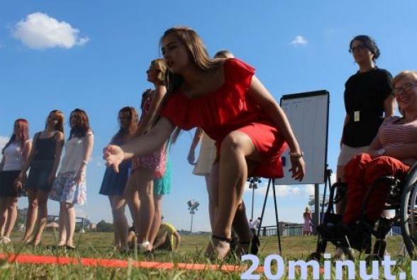 У Вінниці дівчата на шпильках гратимуть петанк
