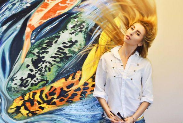 Художниця Марта Качмар: «Свої перші роботи олією я написала на картонці»