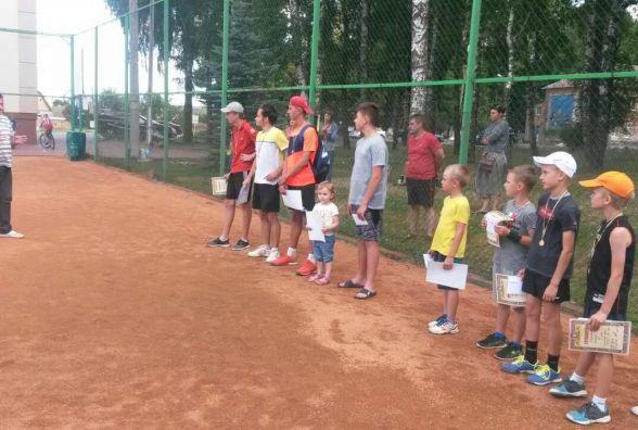 У Вінниці визначили кращих юних тенісистів