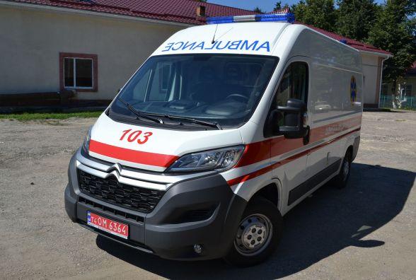 Для Крижопільської лікарні придбали сучасний реанімобіль «Citroën»
