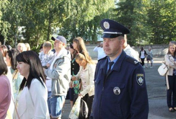 День знань на Вінниччині під охороною восьми сотень поліцейських