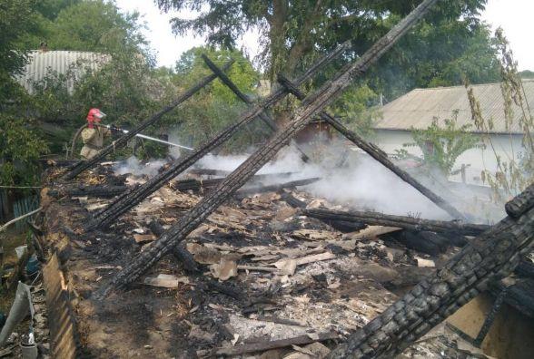 У Крижопільському районі господарі «спалили» записи на зиму дров та сіна