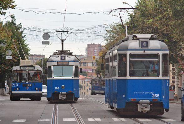 На одну ніч. В Вінниці змінили графік руху трамваїв №1, 4 та 6