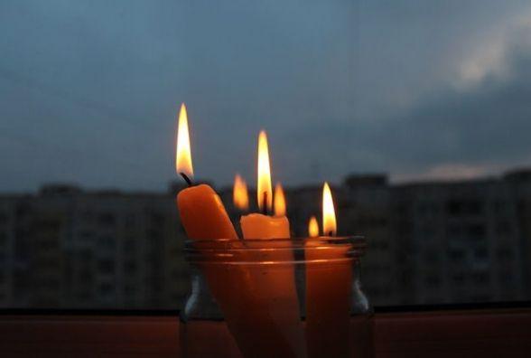 Завтра мешканці двох вулиць дев'ять годин сидітимуть без світла