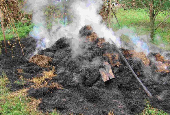 В Немировському районі п'ятирічний хлопчик влаштував пожежу