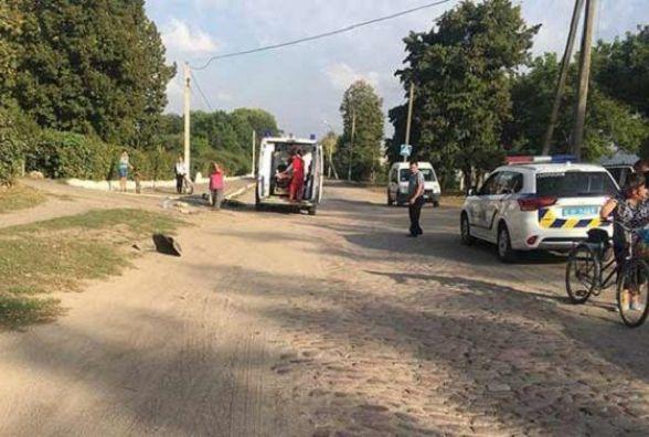 У Бершадському районі «Москвич» збив жінку, що йшла по пішохідній доріжці
