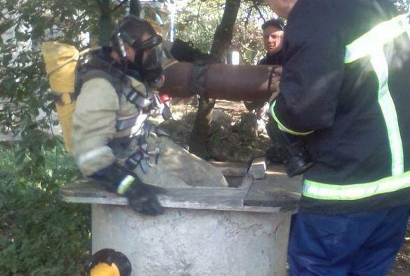 В криниці знайшли потопельника. Тіло діставали шестеро рятувальників