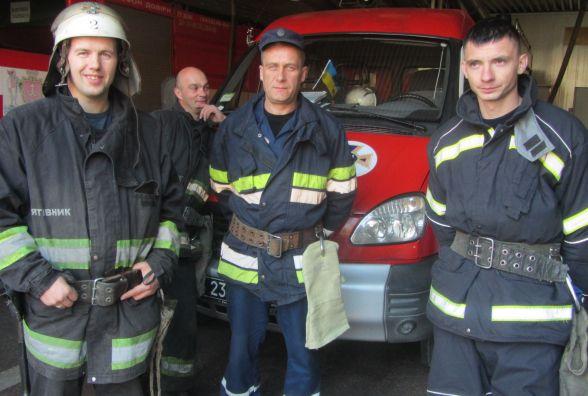 Снаряд «Граду» впав поруч з начальником караулу – пожежники з Вінниці врятували ангар боєприпасів