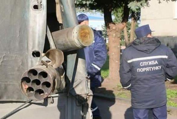 Вибухи боєприпасів на арсеналі в Калинівці припинилися - ДСНС