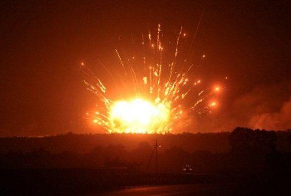 Муженко заявив про космічні апарати над арсеналом в Калинівці під час вибухів