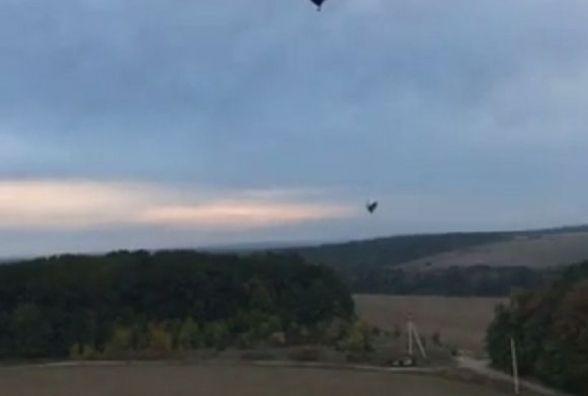 Як Віктор Бронюк на повітряній кулі над Кам'янцем-Подільським літав (ВІДЕО)