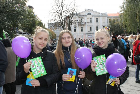 «Виросту - стану банкіром!» ЮніорБанк взяв участь в «Місті Професій» у Вінниці (Прес-служба ПриватБанку)