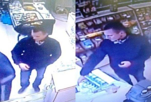 Поліція шукає чоловіка, який поцупив в одному із вінницьких магазинів цигарки