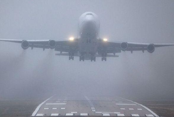 """Через сильний туман аеропорт """"Вінниця"""" не одразу прийняв чартер з Єгипту"""