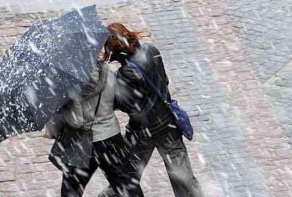 Прогноз погоди на наступний тиждень: дощ з снігом та стабільні заморозки