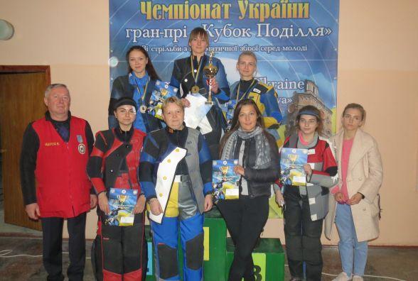 Вінницька стрілецька збірна виграла Кубок Поділля, а Олег Царьков побив рекорд
