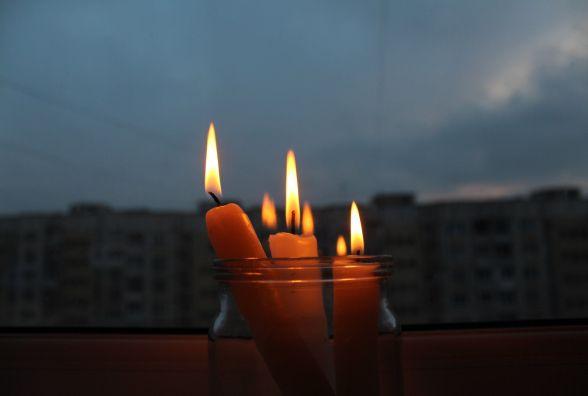 В понеділок мешканці одної вулиці дев'ять годин сидітимуть без світла