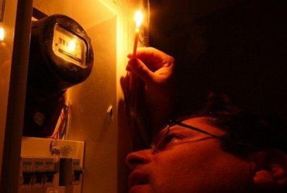 Де в середу мешканці Вінниці дев'ять годин сидітимуть без світла