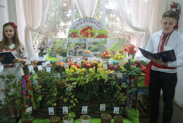 На фестивалі юних садівників презентували навіть їстівні каштани