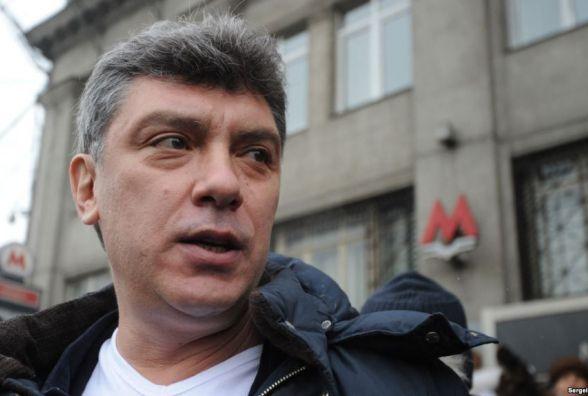 У Вінниці хочуть встановити пам'ятник російському політику Борису Нємцову