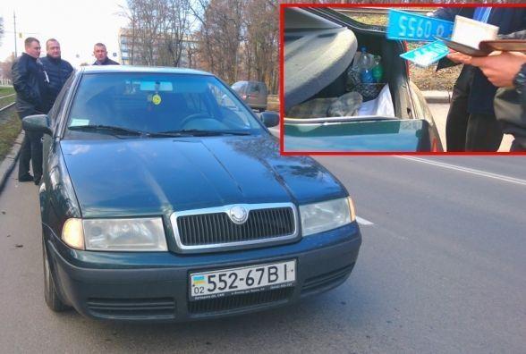 «Погрозили пальчиком»: покарали за несправжні номери на службовій машині завгоспа поліції області