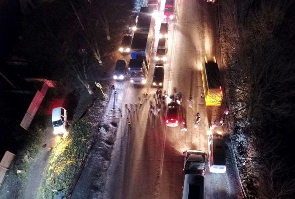 На виїзді з Вінниці люди перекрили дорогу через земельний конфлікт (ОНОВЛЕНО)