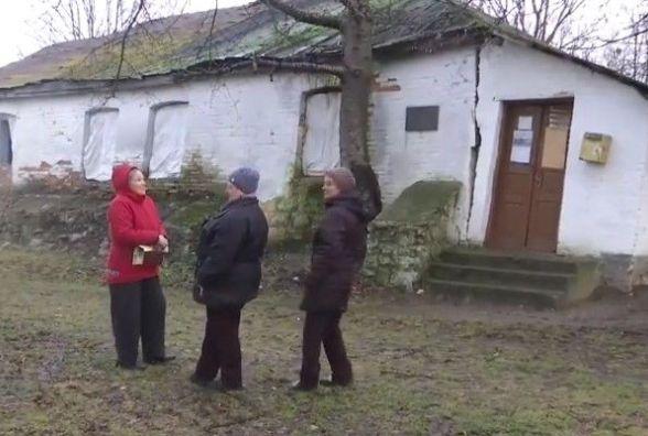 Розвалюється будинок Леонтовича. Місцеві жителі просять розголосу