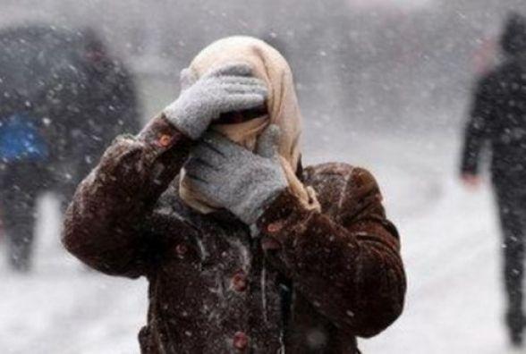На Україну сунуть снігопади, вітер і лютий мороз. Прогноз на тиждень