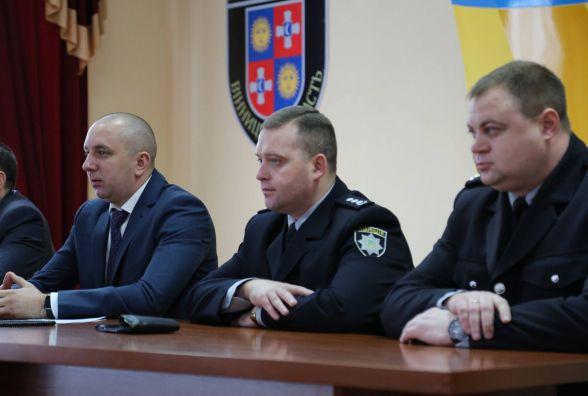 Начальник поліції Вінниці став «завгоспом» обласного главку