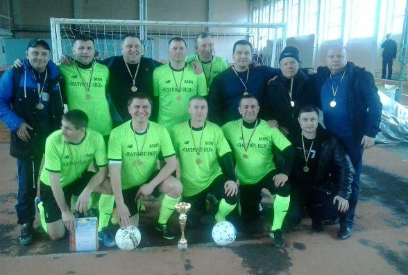 Ветеранський чемпіонат Вінниччини з футзалу виграли дебютанти