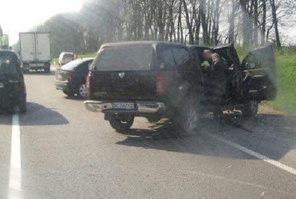 Водій з Вінниччини помер після аварії наЛьвівщині