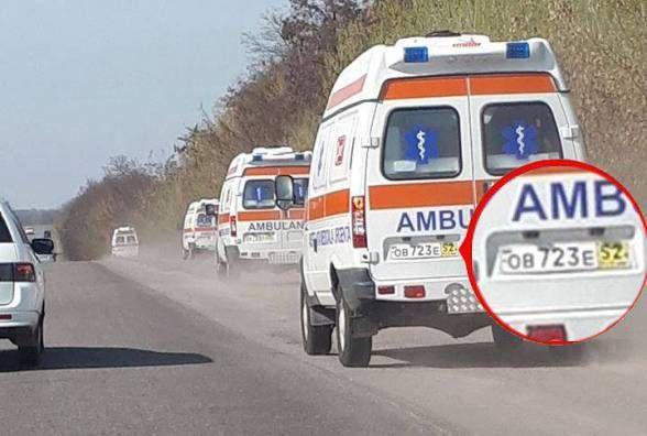 Шість «швидких» на російських номерах промчали по вінницьких дорогах. Що це могло бути?