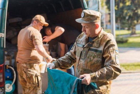 Найпотужніший вантаж: 15 тон гуманітарної допомоги вирушило з Вінниці на Схід