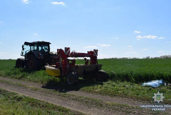 На Вінниччині трактор переїхав 47-річного чоловіка, що п'яний спав у полі