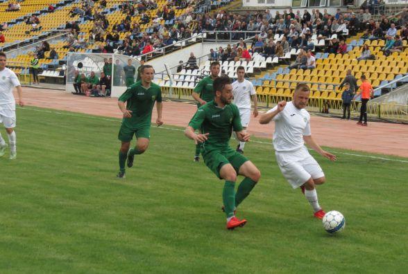 «Нива» із мінімальним рахунком поступилася віце-чемпіону другої ліги «Прикарпаттю»