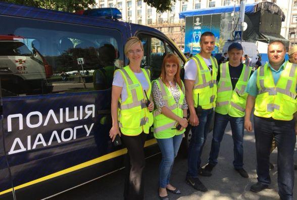 Вінницькі рятувальники та поліцейські допомагають столичним колегам на фіналі Ліги Чемпіонів
