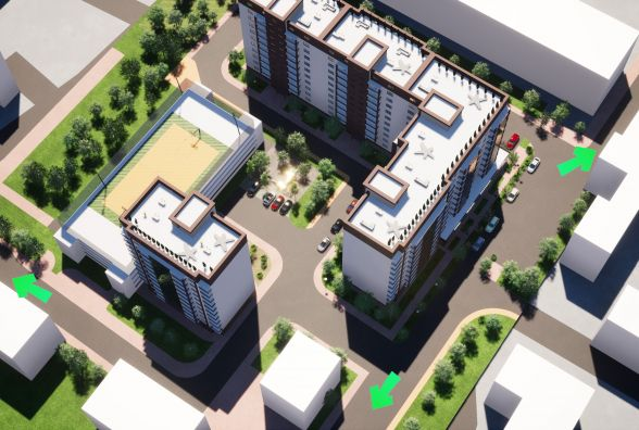 У Вінниці планують звести новий житловий комплекс з парковкою
