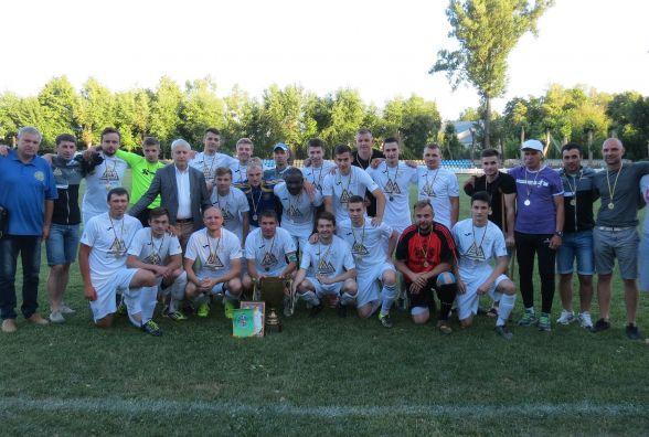 Кубок Вінниччини з футболу сенсаційно здобула команда з  Рачків