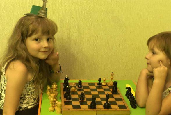 Чемпіонку Вінниці з шахів серед дошкільнят навчили грати у садочку
